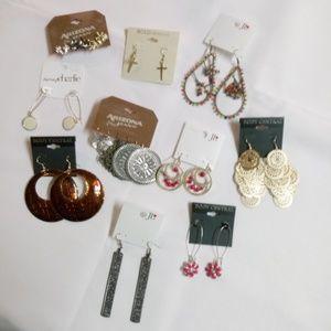 Fashion Earrings Bundle 10 Pair Drop/Dangle BN10